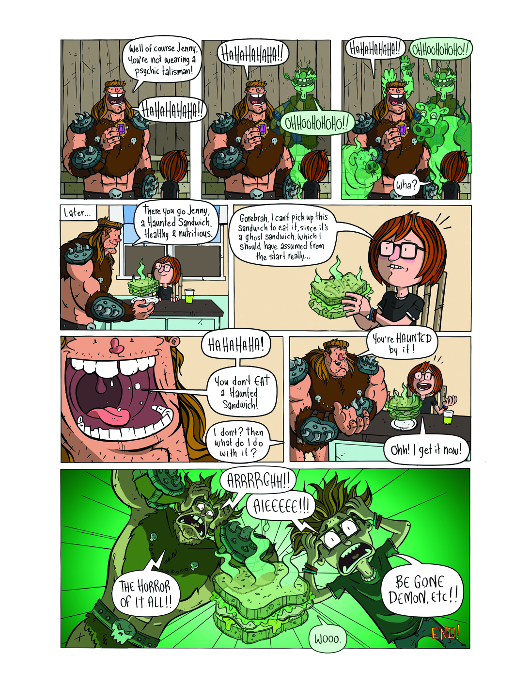 Gorebrah! (The Phoenix #317)