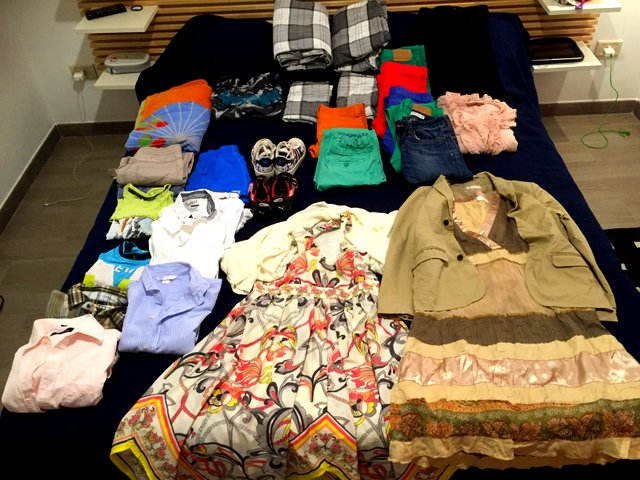 Line Hammelow-Berg from Stavern sent these donations with Jørns son, Sander, when he met us in Rome