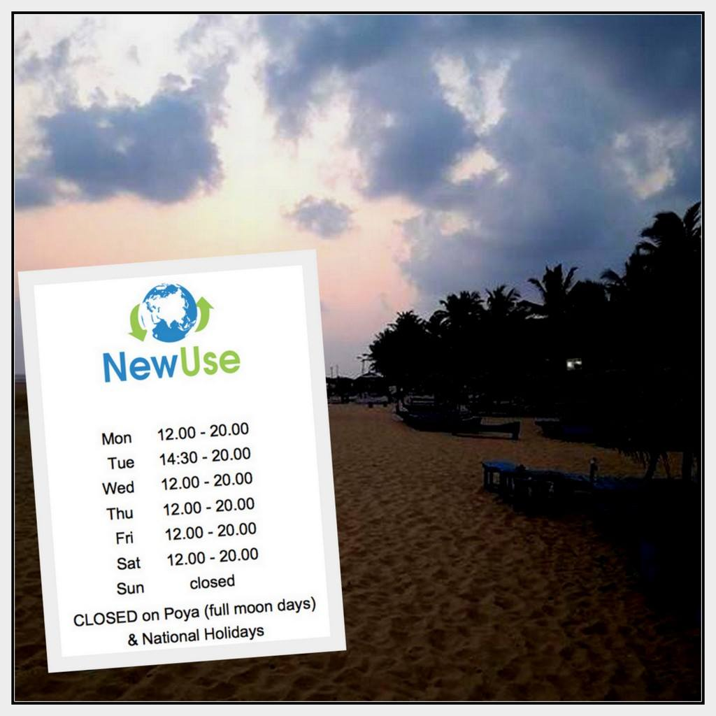 NewUse opening hours