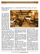 why good design is important for your coffee shop