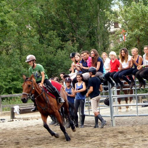 Campamentos de equitación en españa