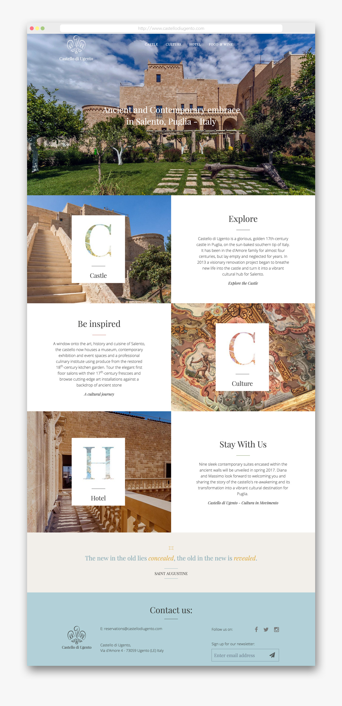 Castellodiugento-Desktop-furthermore-user-experience-case-study