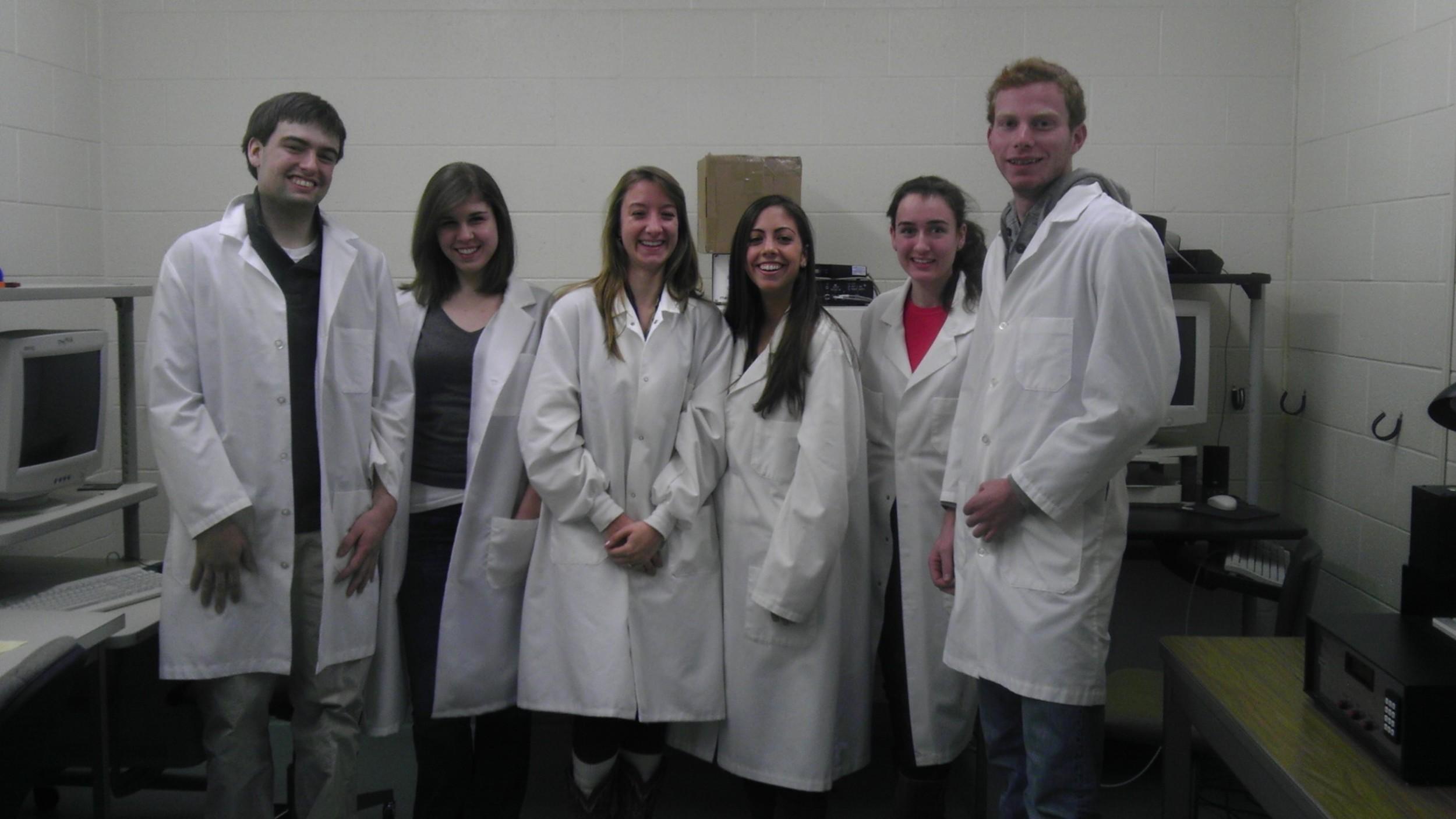 Ryan, Katerina, Brittany, Danielle, Caroline & Ryan. NSSI team 2013
