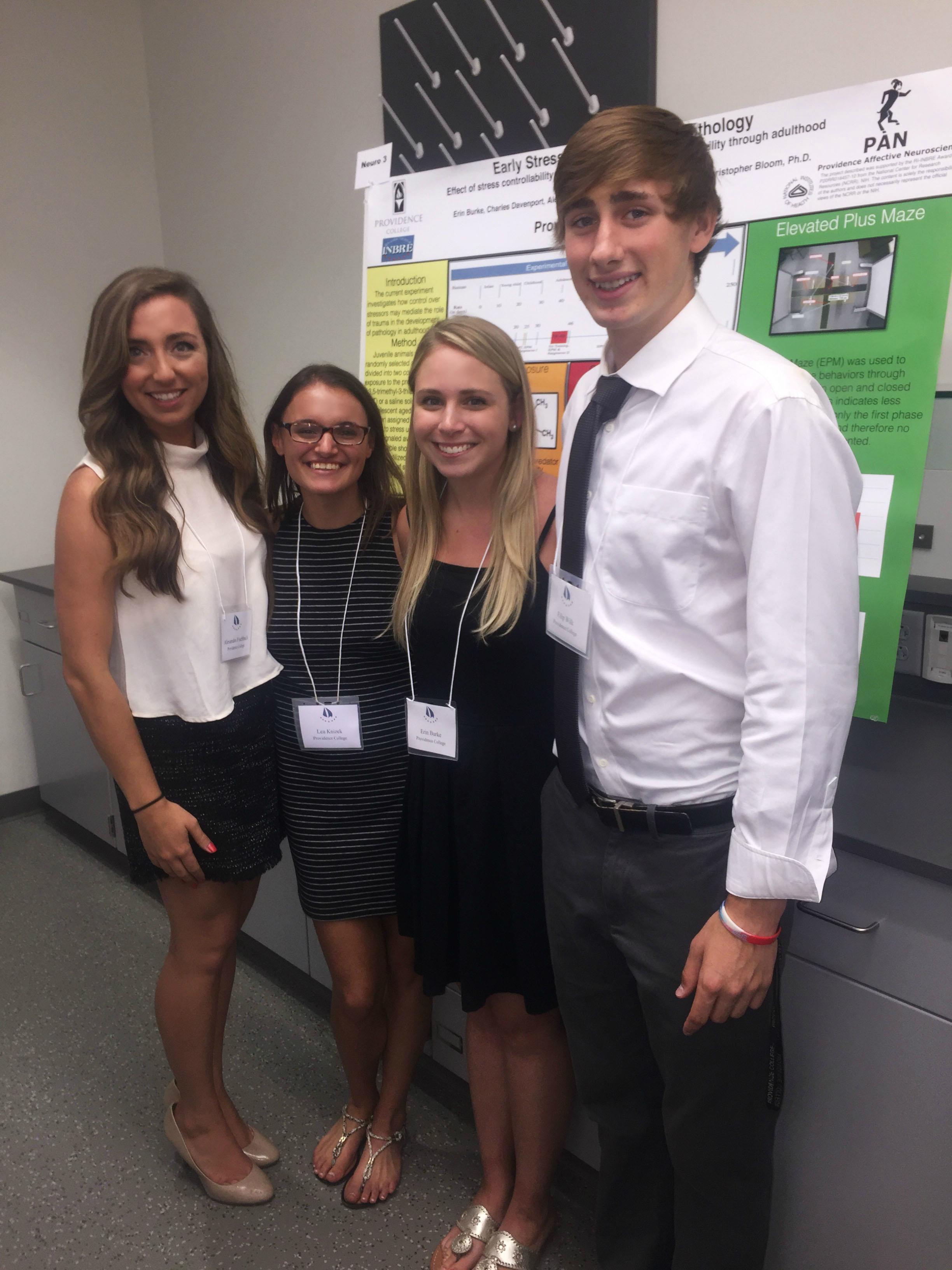 Alex, Leah, Erin & Filip-INBRE Conference 2016