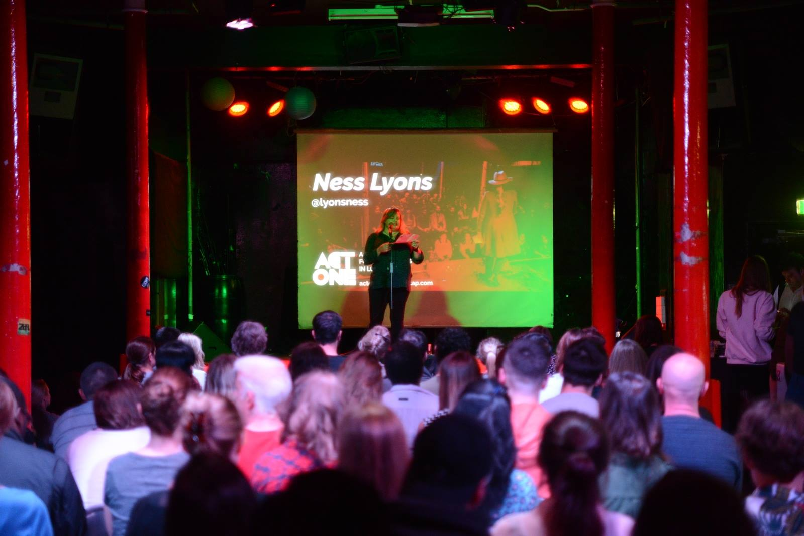 Spoken Word poetry performance for Shorts on Tap - 93 Feet East, Brick Lane