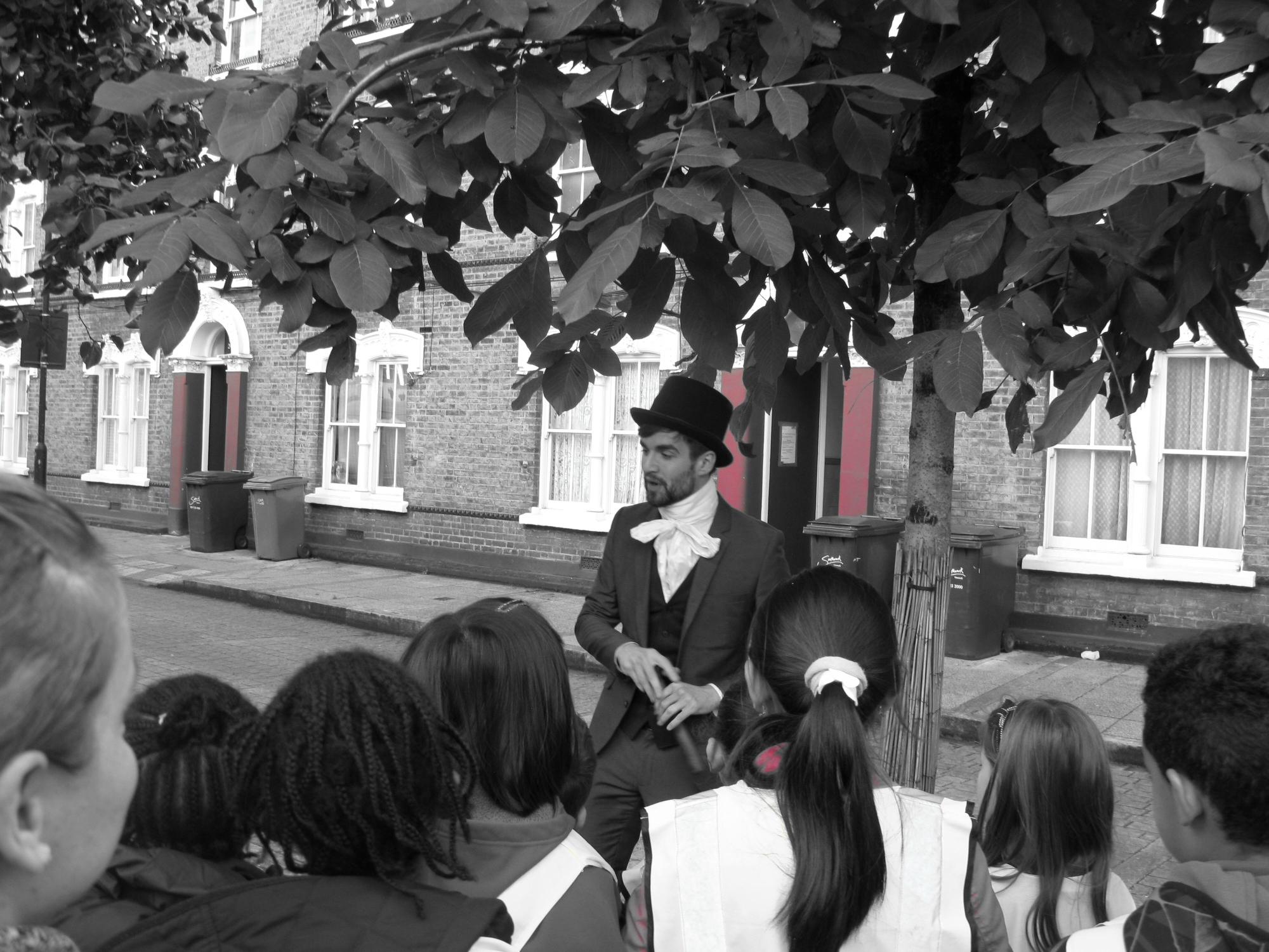 Theatre in Education - Bespoke version of Pullens Promenade Theatre for Year 5 Primary School Children