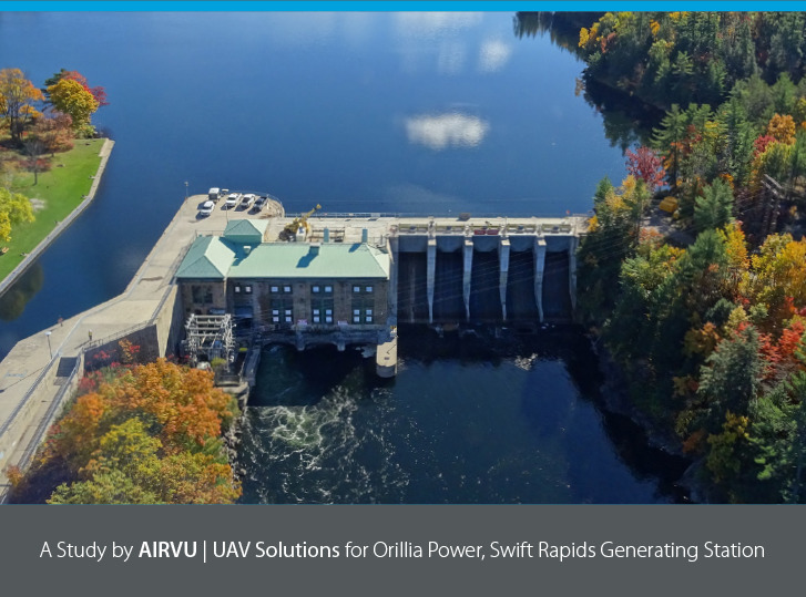 Orillia Power, Swift Rapids Generating Station: Aerial Surveying and Inspections