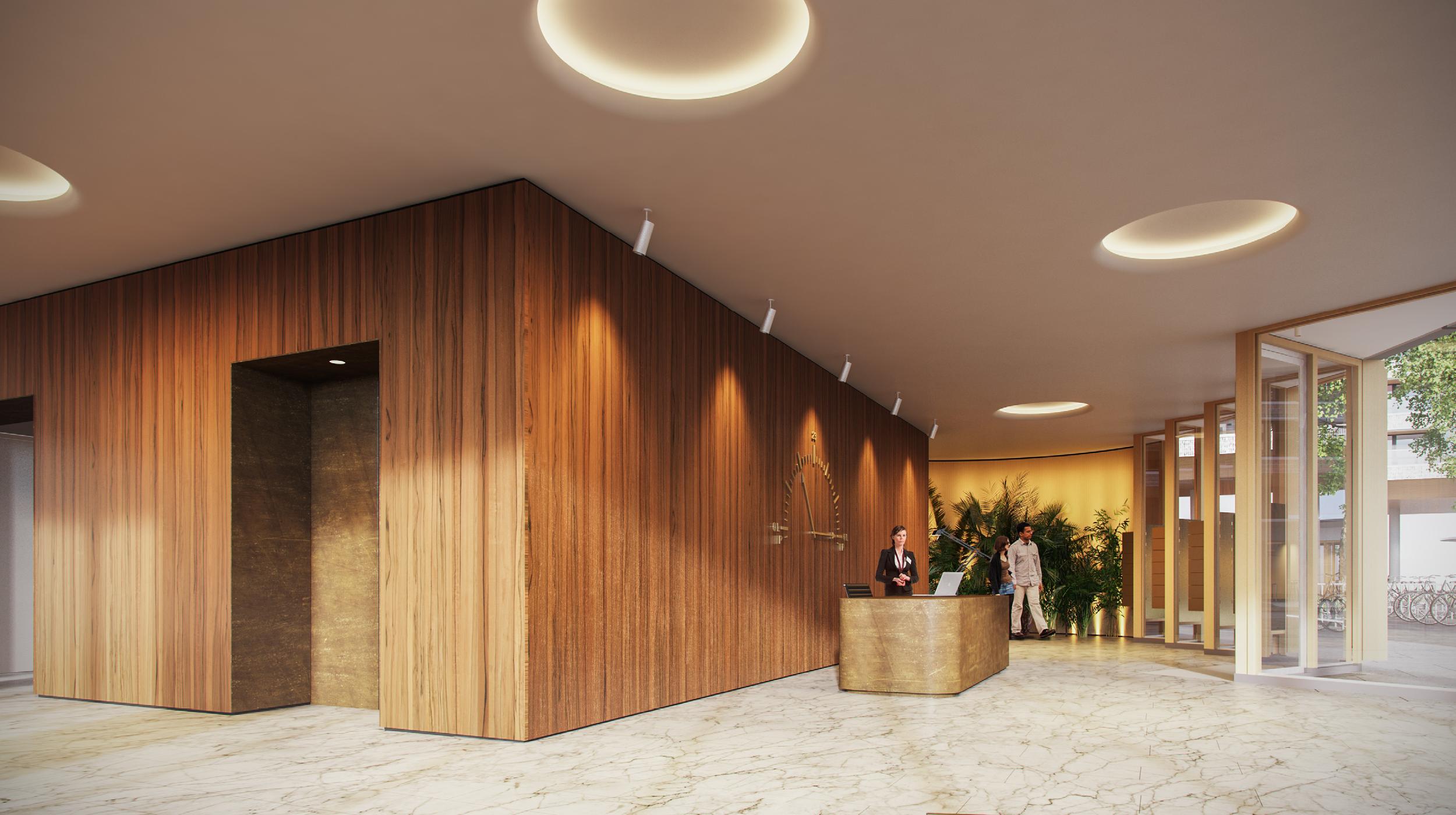 Pontsteiger houthavens Amsterdam lobby