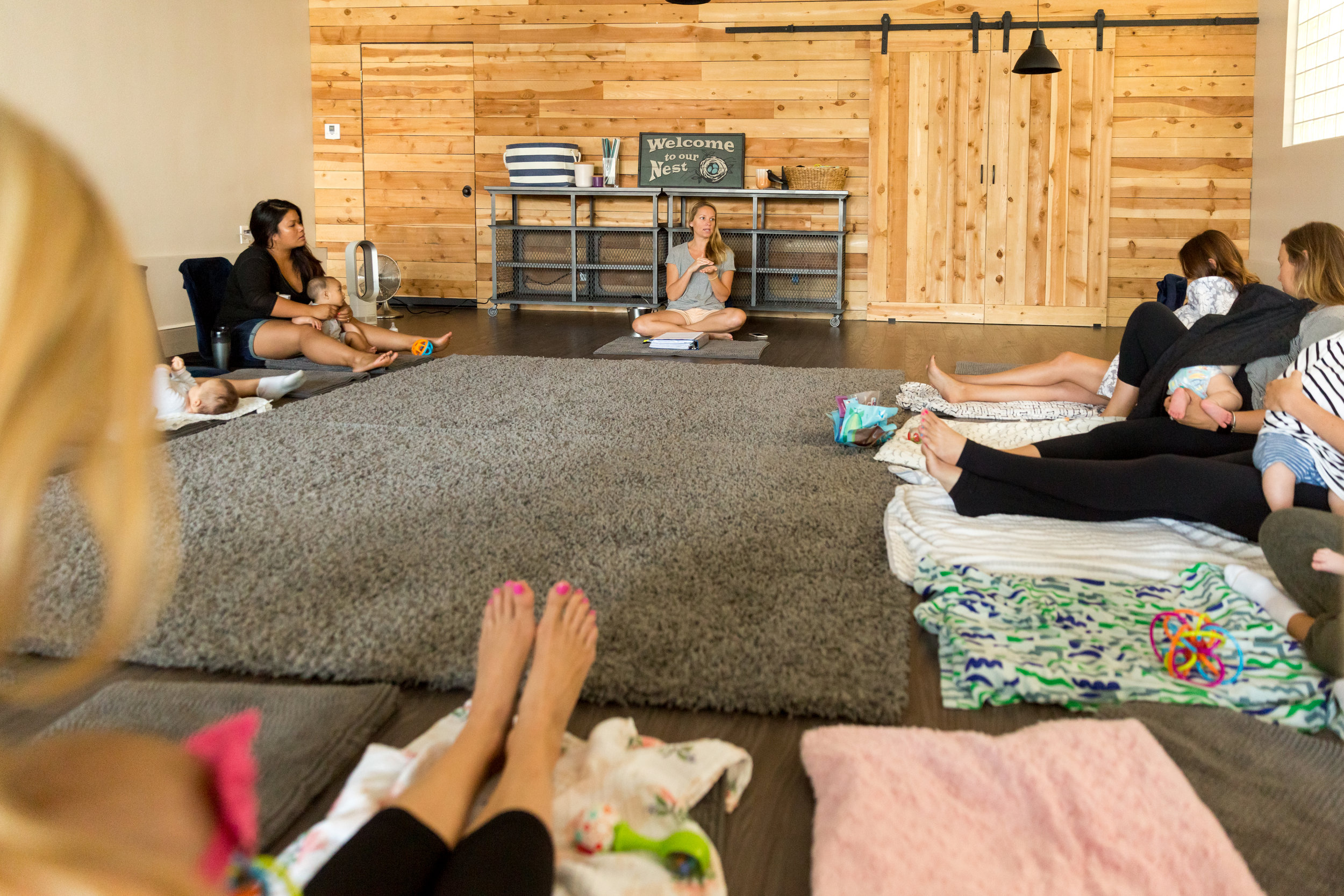 Welcome to the Nest... - ...the home of fun and nurturing boutique style Mommy & Me classes in Hermosa Beach, California. The Nest is where new mommies and their darling babies come once a week to bond, make new friends, learn and share new things and feel supported and encouraged!Warning! In our classes you will have fun, laugh, smile and, yes, of course tear up from time to time. But that's what it's all about! Being in the