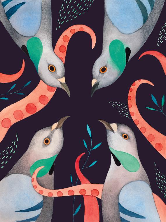 illustration:  ester garcia