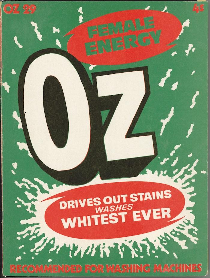 Oz , No. 29, FEMALE ENERGY © Paul Gorman Archive