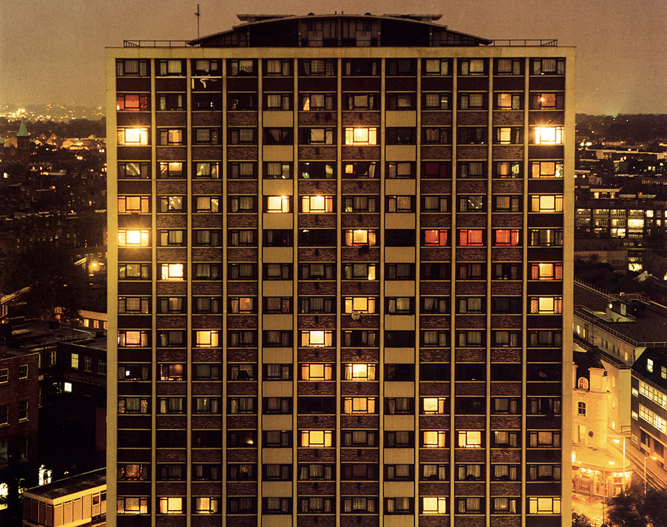 London A Modern Project, 1995, by Rut Blees Luxemburg