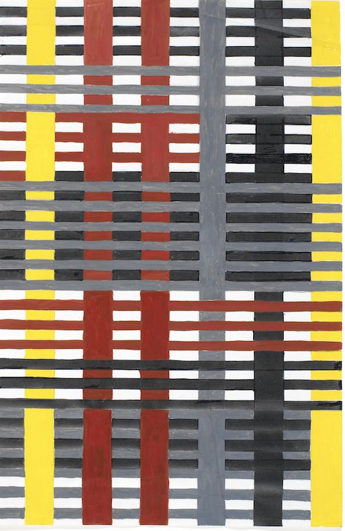 Study for Unexecuted Wallhanging 1926 The Josef and Anniversary Albers Foundation © 2018 The Josef and Anni Albers Foundation / Artists Rights Society (ARS), New York/DACS, London