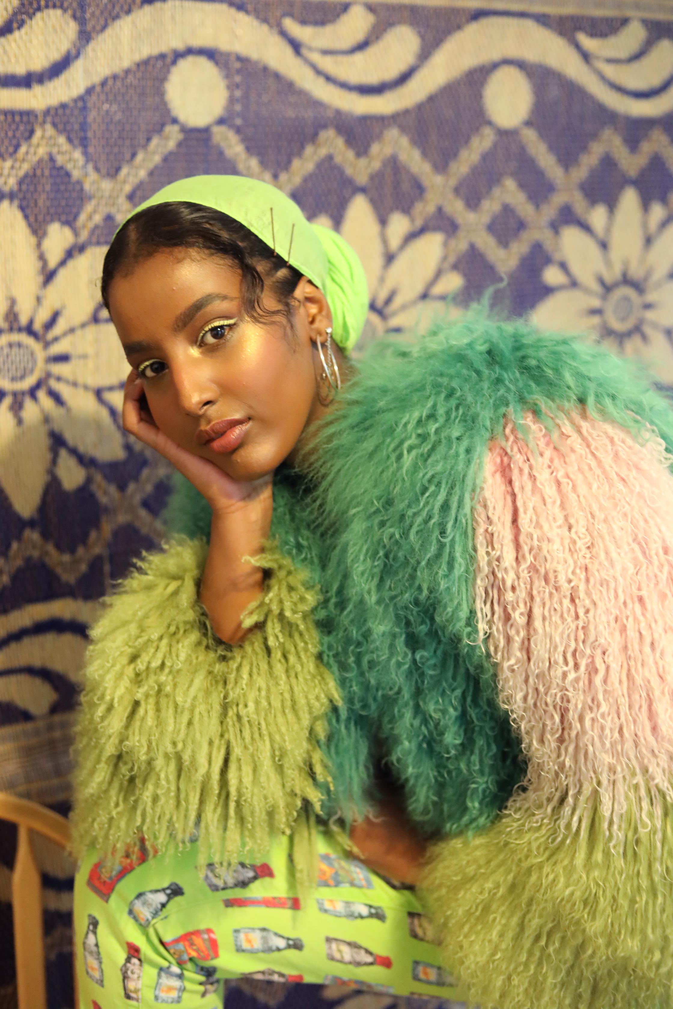 Model: Amaal Ali / Photography: Zeinab Saleh / Stylist: Lucy Savage / Make-up: Maha and Hala / image belongs to Muslim Sisterhood