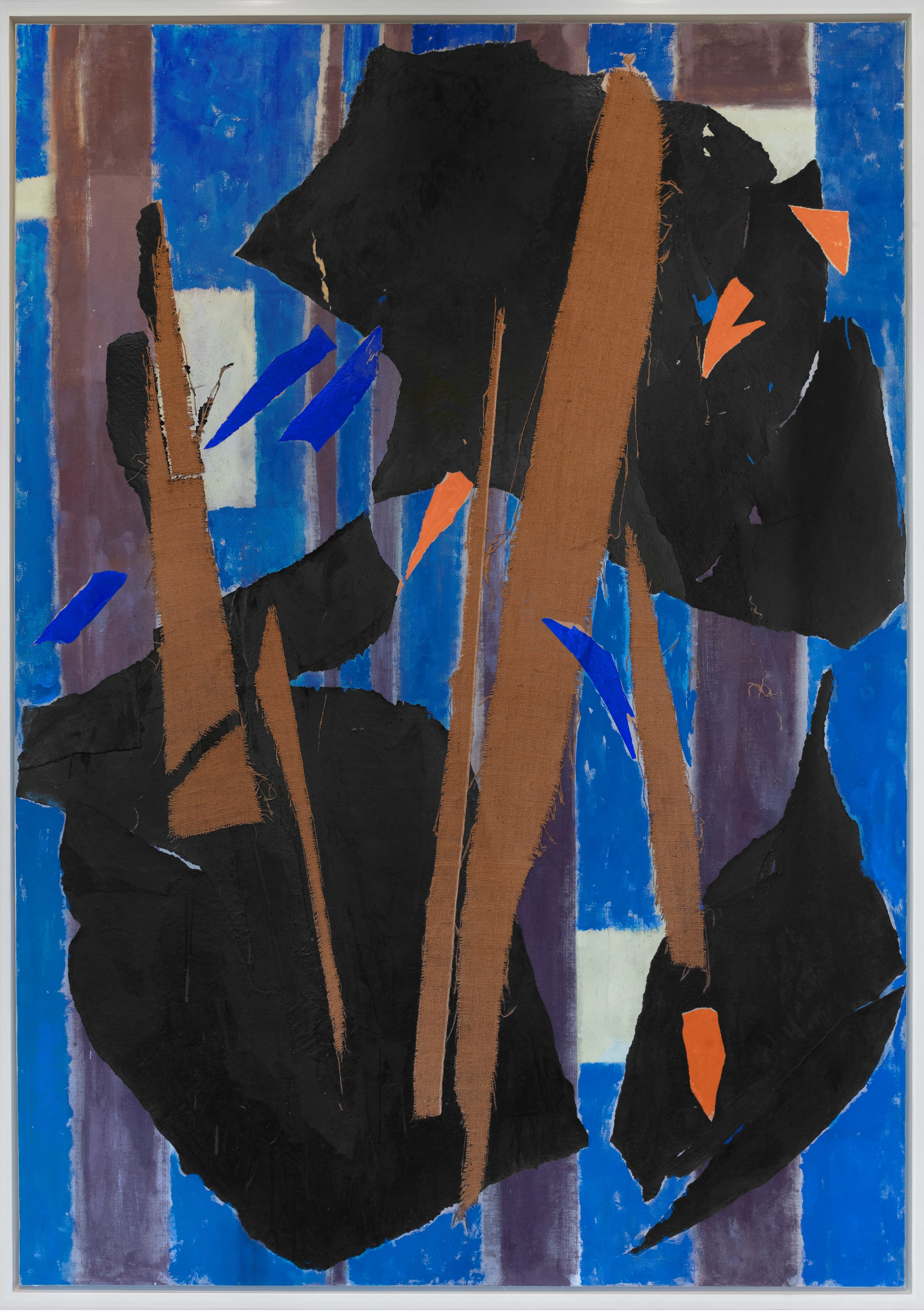 Lee Krasner  Blue Level , 1955 Private Collection. © The Pollock-Krasner Foundation. Photograph by Diego Flores