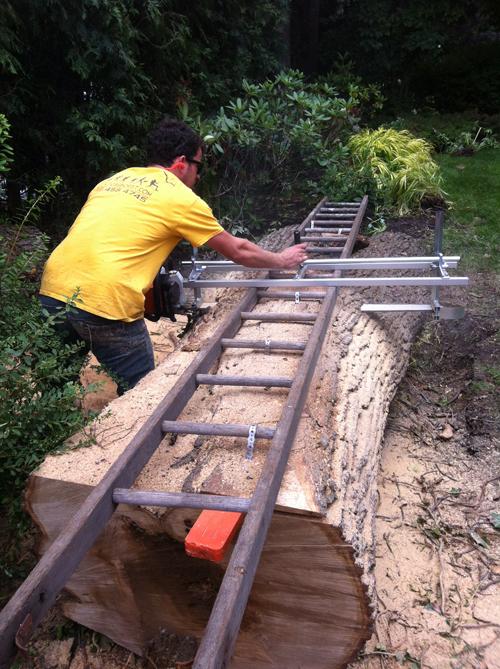 Log Milling