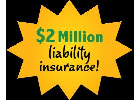 2 million liability insurance
