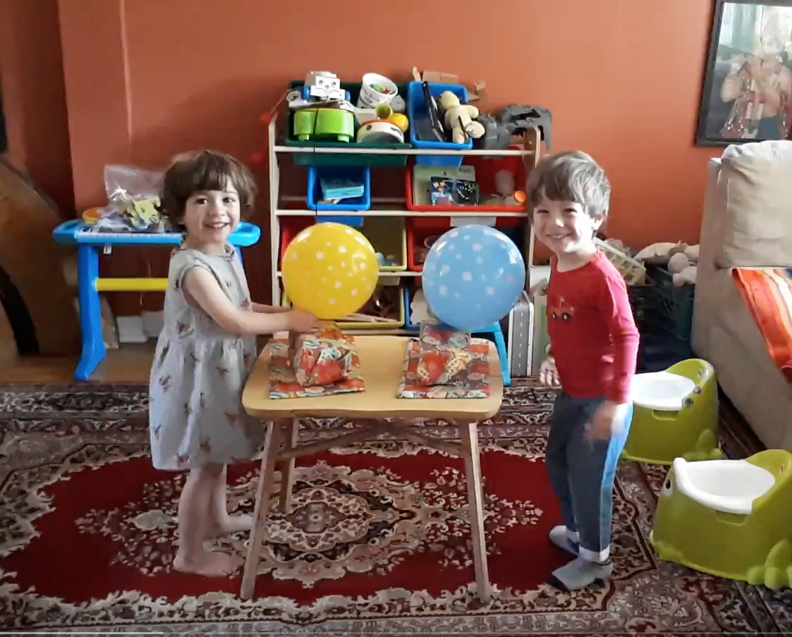 Twins Birthday! - Arthur and Casilda turned 3 years old.