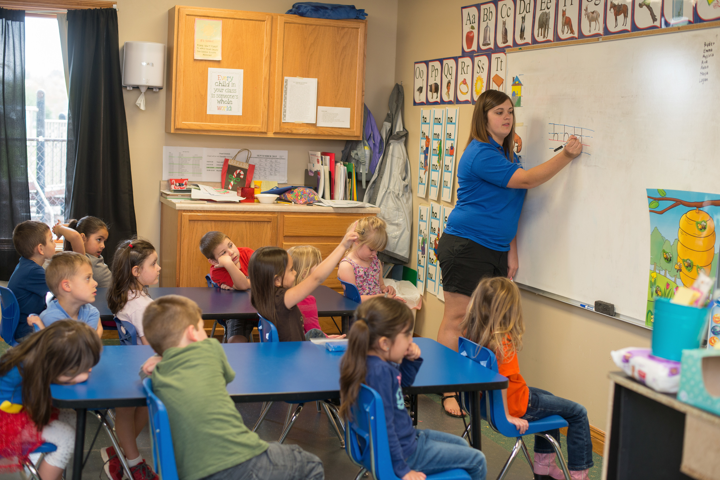 Classroom with Miss Erin