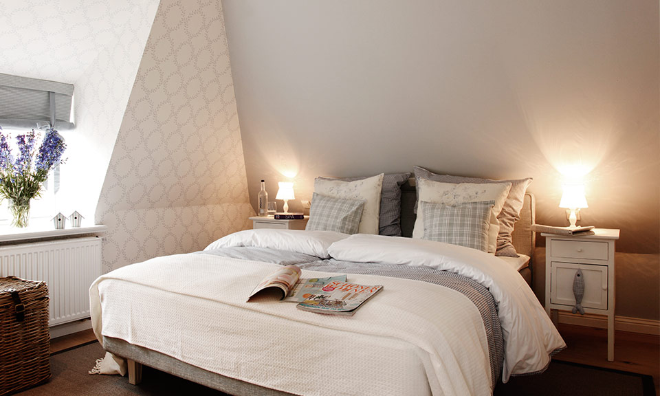 Homely, quiet and comfortable - the sleeping area for pleasant dreams.