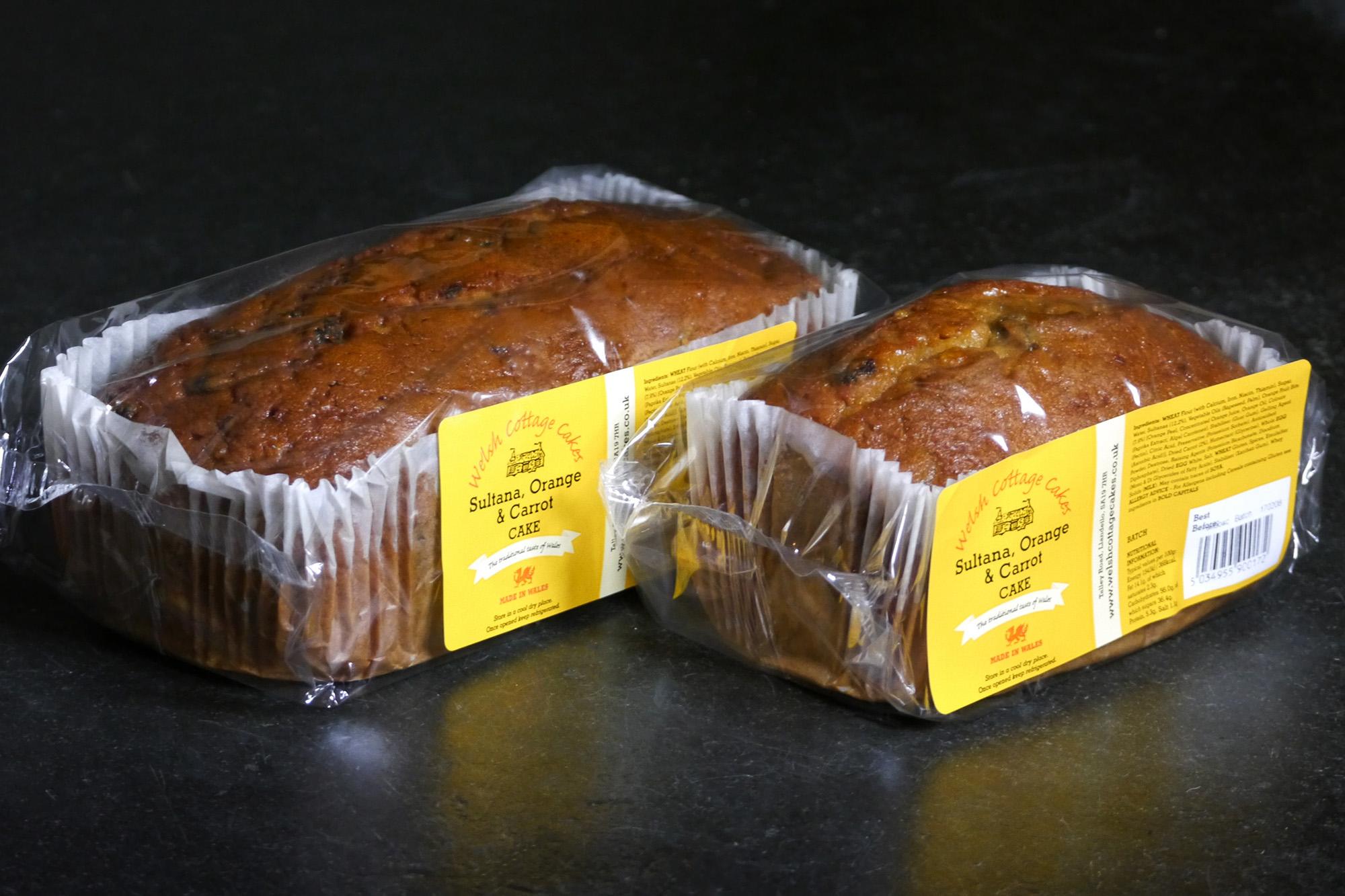Sultana, Orange & Carrot Cake Packshot