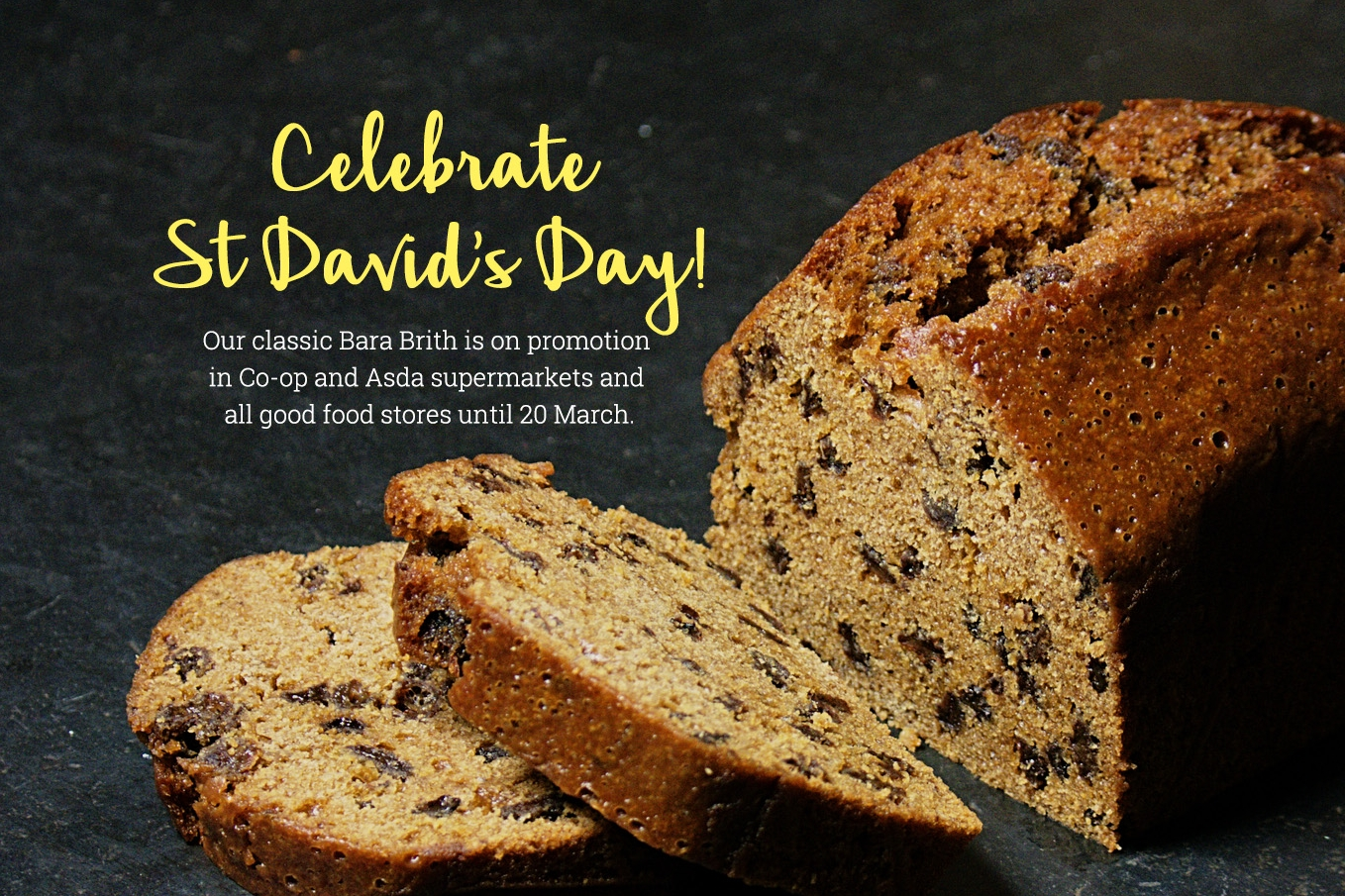St David's Day Bara Brith