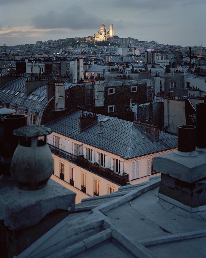 """Copy of """"Sur Paris #286"""" by Alain Cornu"""