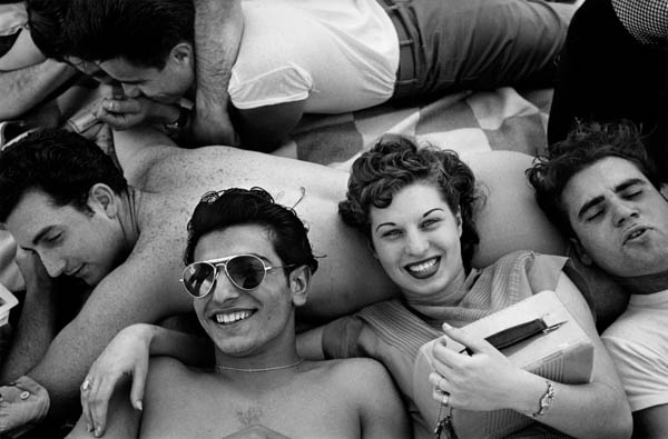 "Copy of ""Coney Island Teenagers"" by Harold Feinstein"