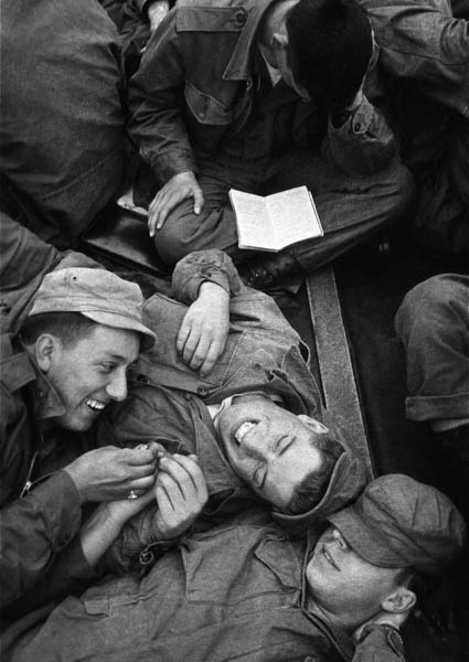 """Copy of """"Cramped Quarters""""  by Harold Feinstein"""
