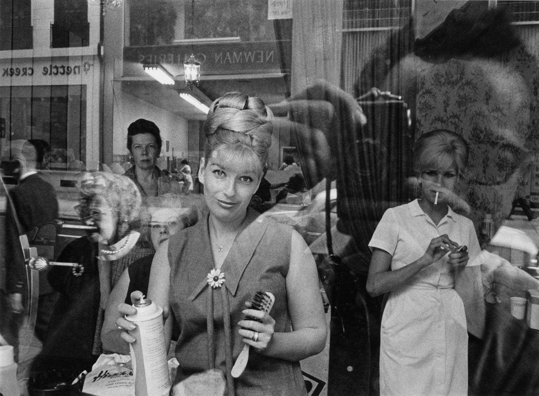 Copy of Beauty Parlor Window (Philadelphia, Pennsylvania), 1964