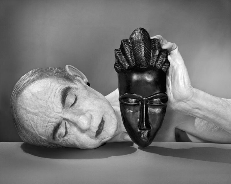 Catherine Balet - Looking for the Masters in Ricardo's Golden Shoes #17 (Tribute to Man Ray, Black and white, 1926), 2014