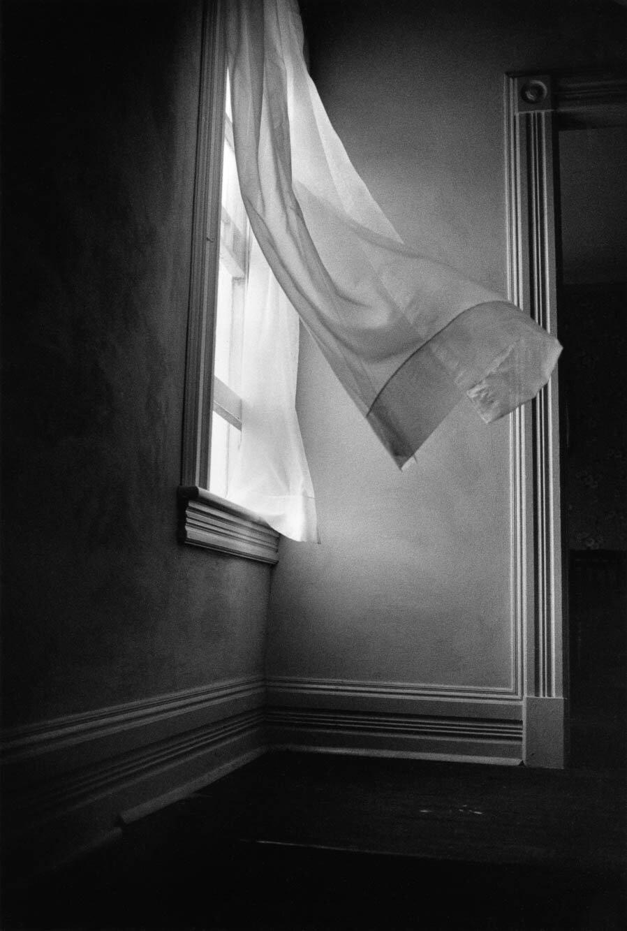 Harold Feinstein - Breezy Curtains (Vermont), 1978