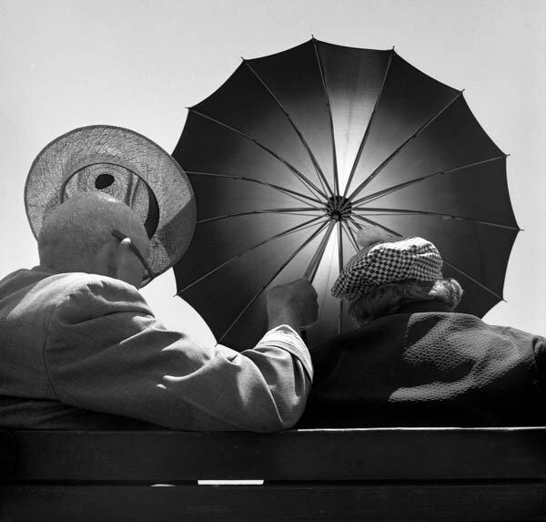Harold Feinstein - Seeking Shade, 1948