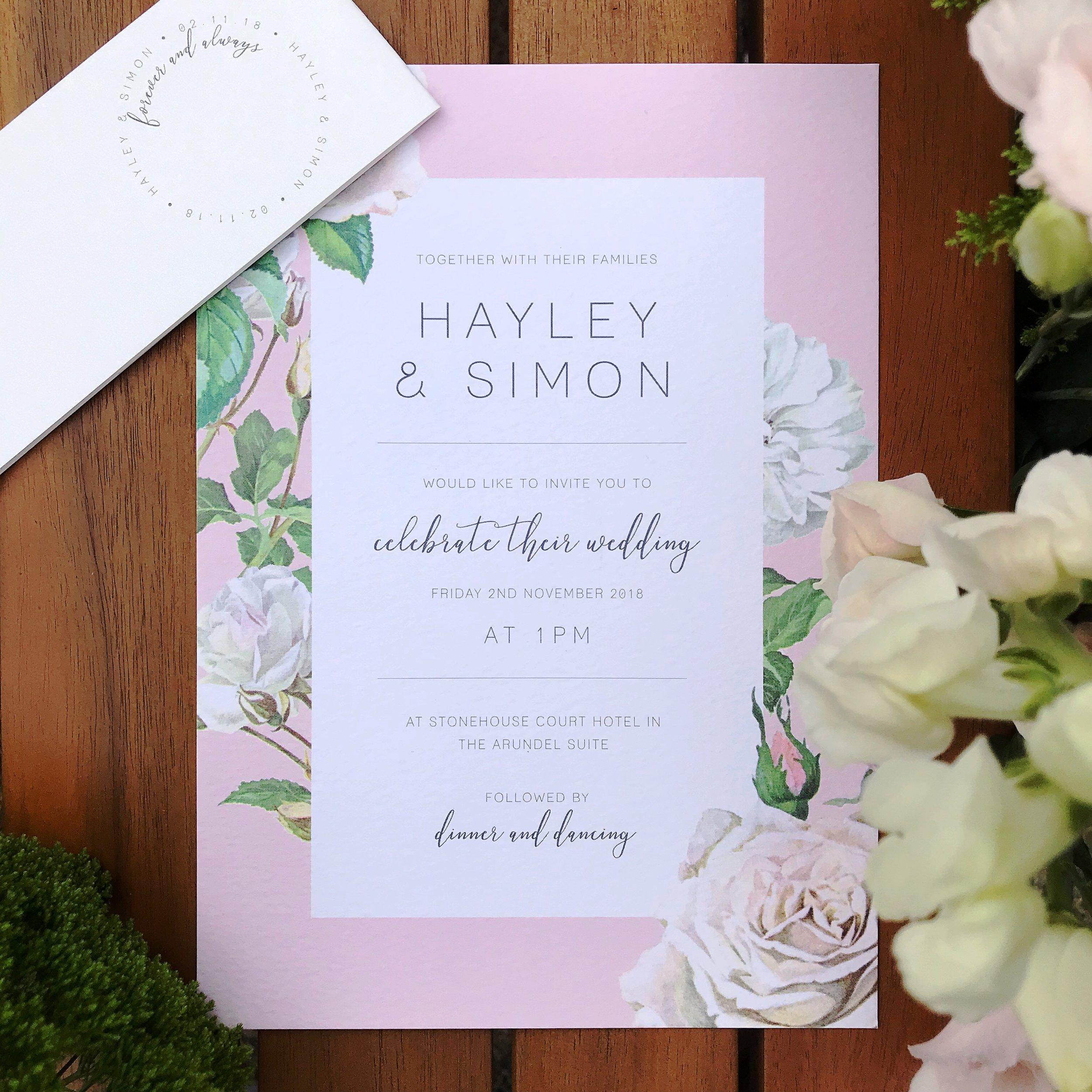 Pastel-pink-wedding-invite-white-roses-cheltenham-theinkcloset-day.jpg