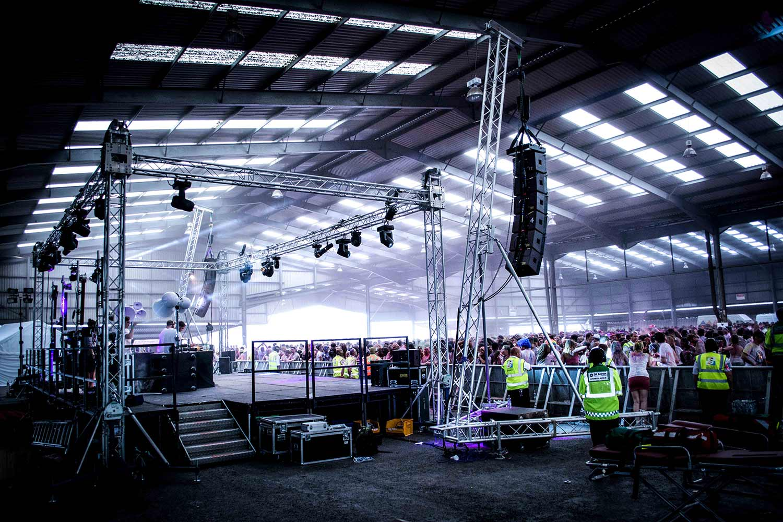 Splott Warehouse Spartan Audio Visual Void Airmotion Full Production