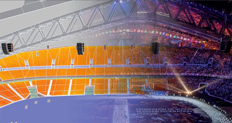 L'acoustics Soundvision Russian Olympics