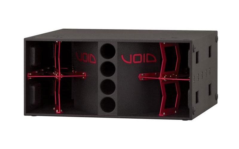 Spartan Audio Stasys X-Air Red Void Acoustics Xv2