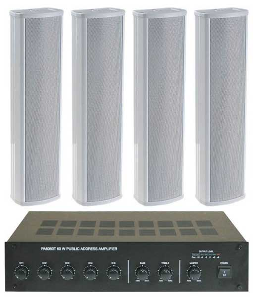 Column-Speaker-PA-Package-Worship-Church