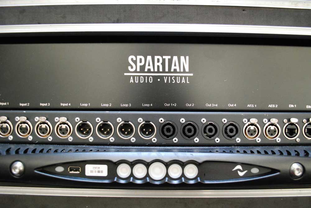 Spartan-Audio-Powersoft-SAV-Custom-Patch-Panel-X4-X-Series