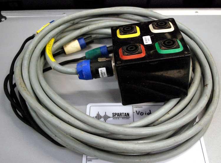 Spartan Audio SAV Golfbox Monitor Custom Cable System