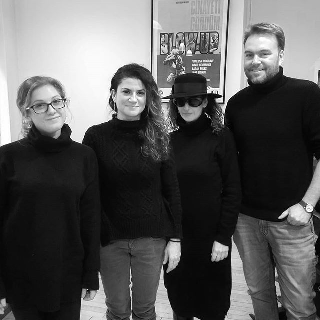 The gang's all here today! Black turtleneck sweathers UNITE!  #chelseaphotographicservices #goteam #wehandleyourfilm #chelseaphotonyc #oneofus  #allblackeverything #artists #photography #filmlab #nycdarkroom #nycphotolab #filmphotography #traditionaldarkroom #istillshootfilm #shootmorefilm #filmisback #filmisalive #mediumformat #fujifilm #kodak #ilford