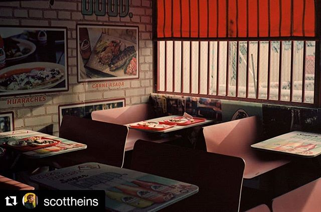 A little LA warmth, captured by @scottheins.  #Repost @scottheins (@get_repost) ・・・ Taqueria, Los Angeles, shot on @kodak #35mm (processed by @chelseaphotographic, scanned by me)  #chelseaphotographicservices #chelseaphotographic #chelsealab #nycdarkroom #nycfilmlab #c41 #colorfilm #istillshootfilm #shootmorefilm #filmisalive #deathtodigital #kodak_photo #kodak #ilford #fujifilm