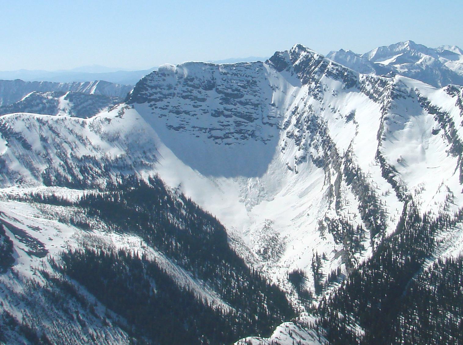 Lentz Pk, Cabinet Mountain Wilderness, Libby Mt