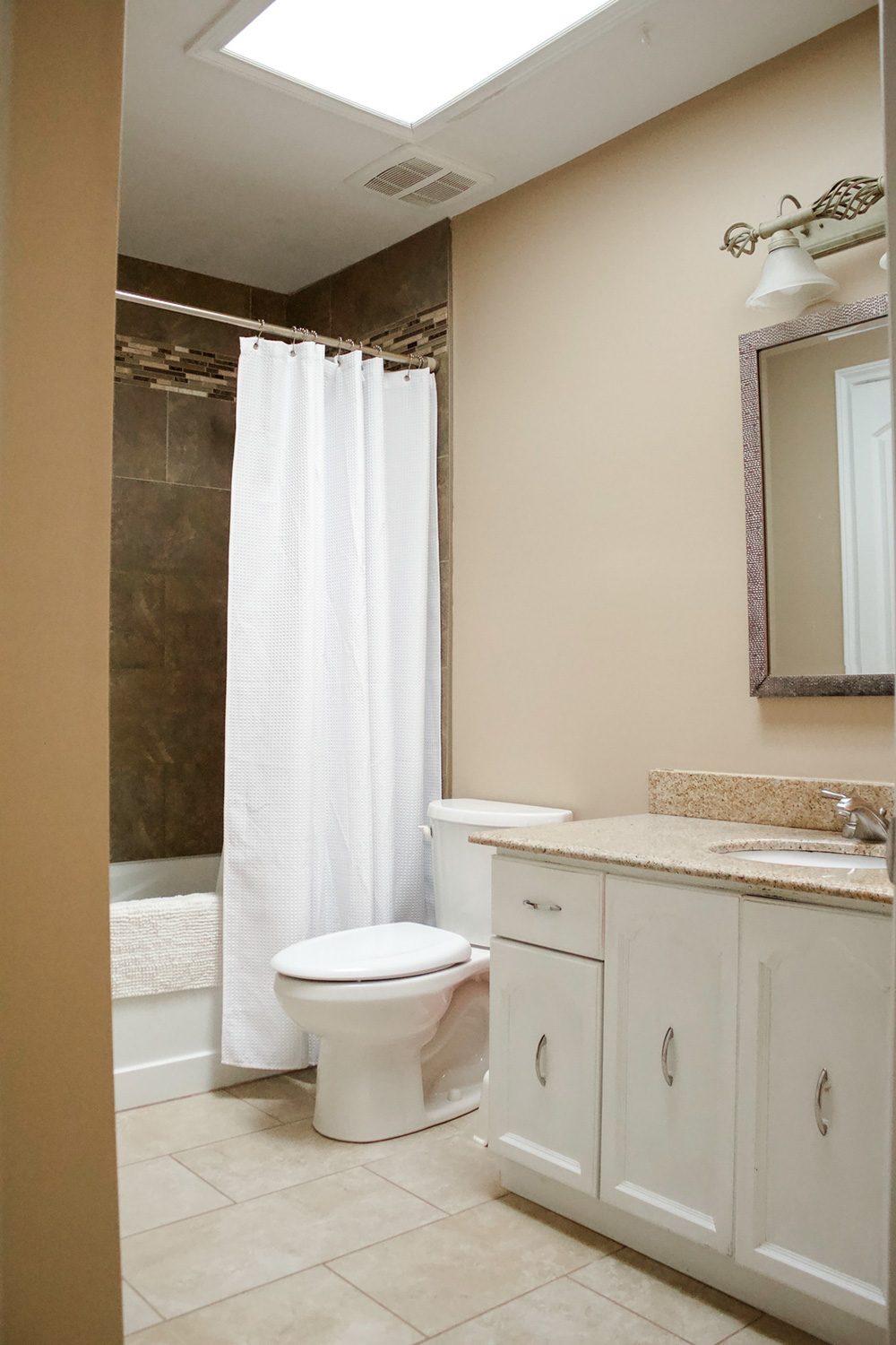 Week 1 of the one room challenge. A family bathroom remodel by Ashley Izsak