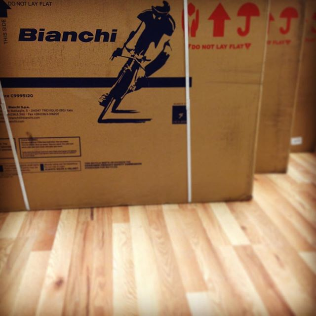 The Bianchi you expected under the tree this year just got in today, Santa said sorry for the delay. Come on in and pick it up today! #loveableliveablelongmont #bianchibicycles #bianchi #bianchiusa #longmont #bikes #bouldercounty