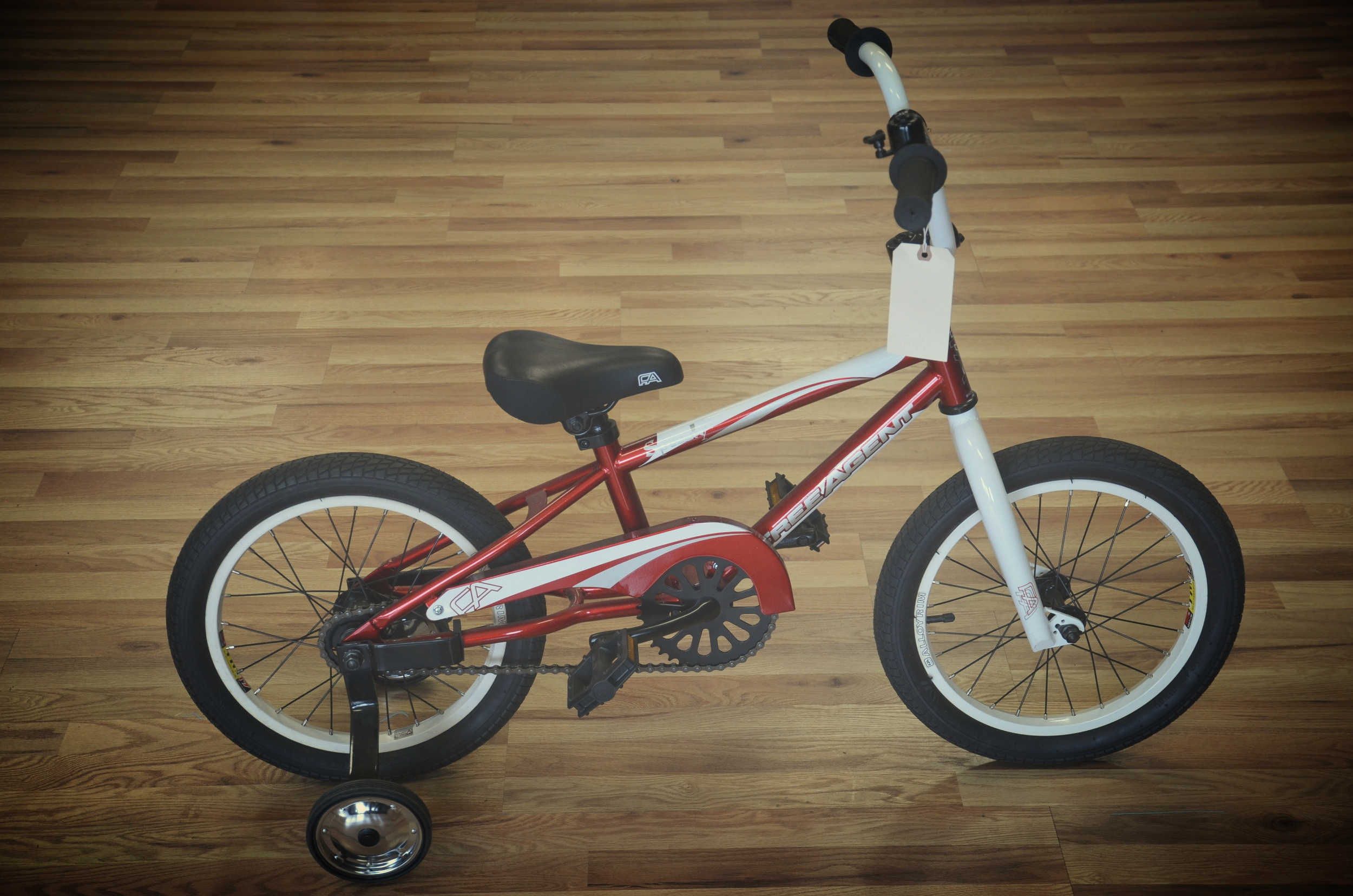 Free Agent Kiddo's Bike