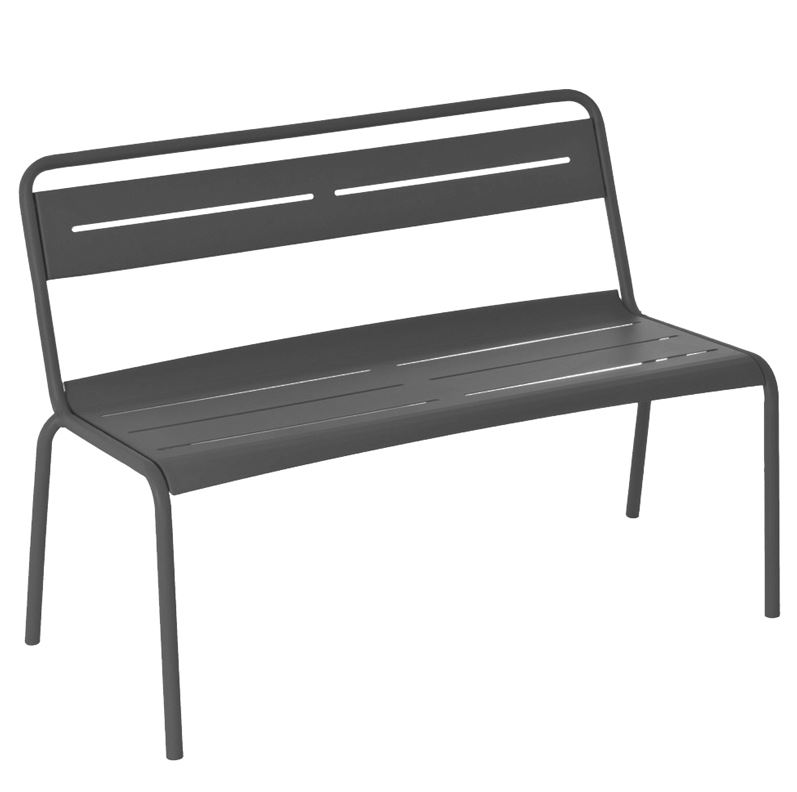 163 Star Bench with 47in Wide Back