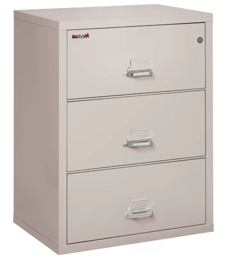 Fireproof 3 Drawer Lateral File