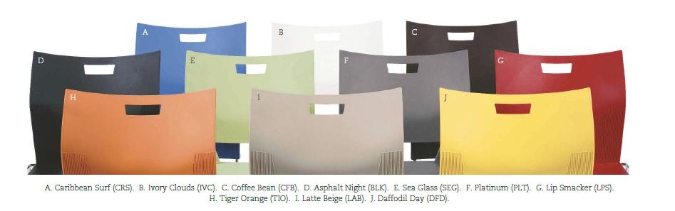 Duet Color Wave: eight availabel colors