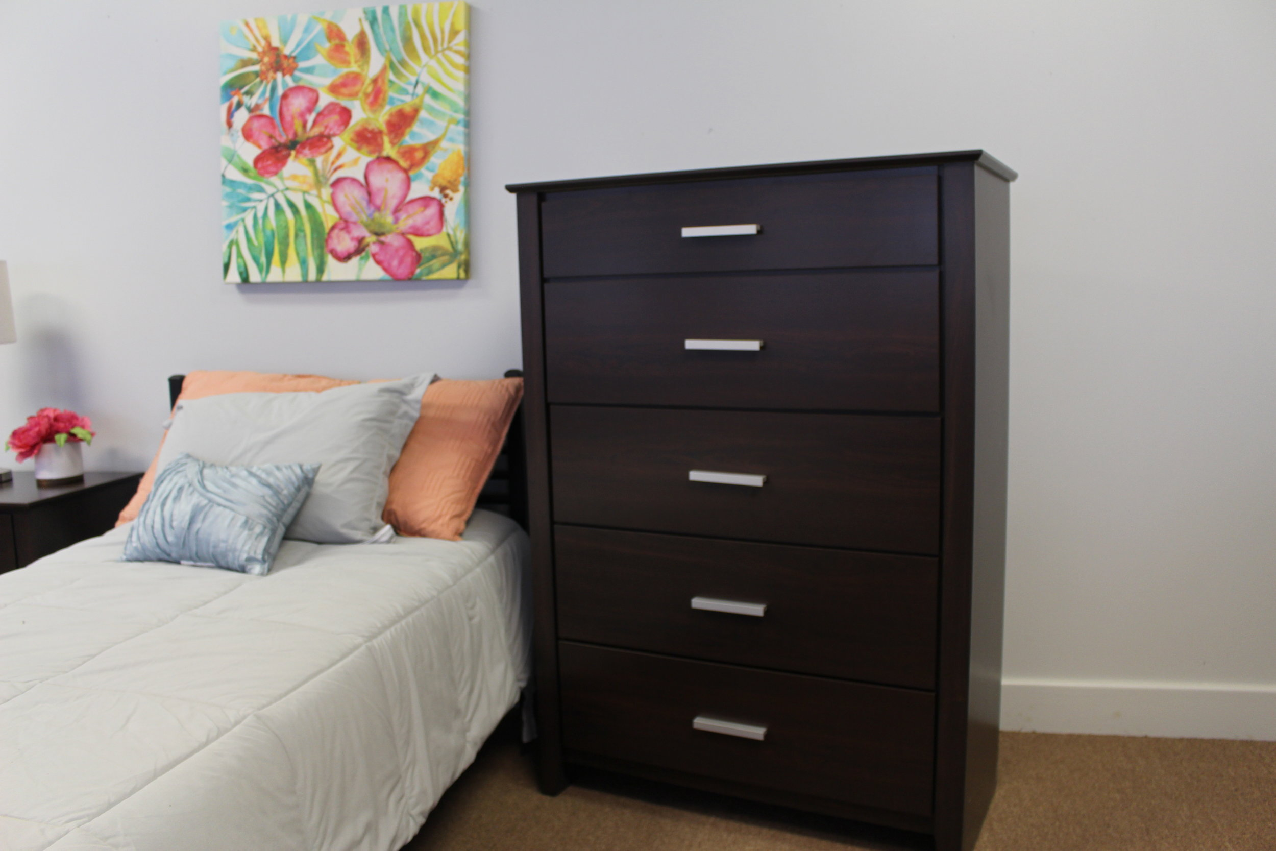 Oxford five drawer chest